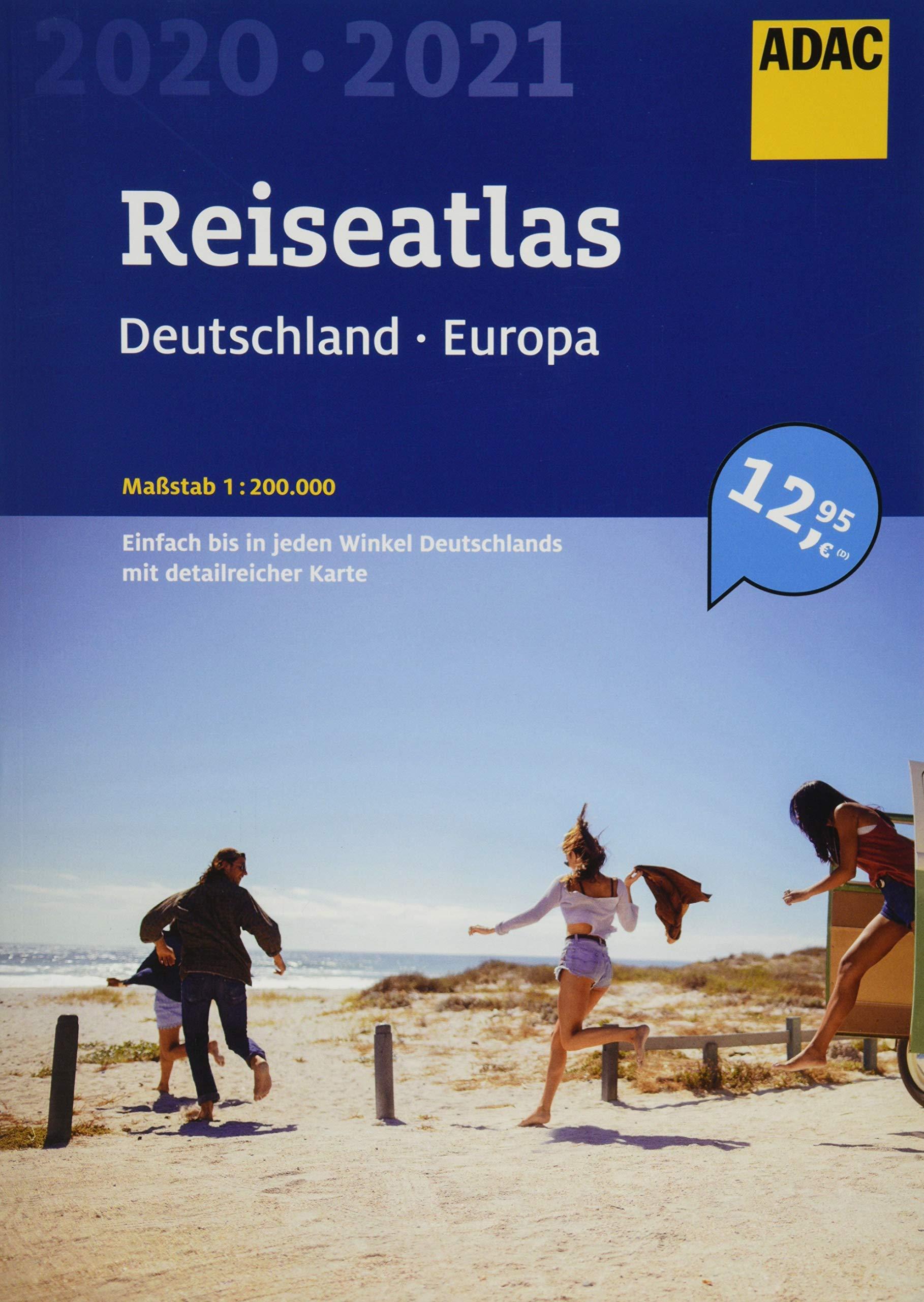 ADAC Reiseatlas Deutschland Europa 2020 2021 1 200 000  ADAC Atlanten