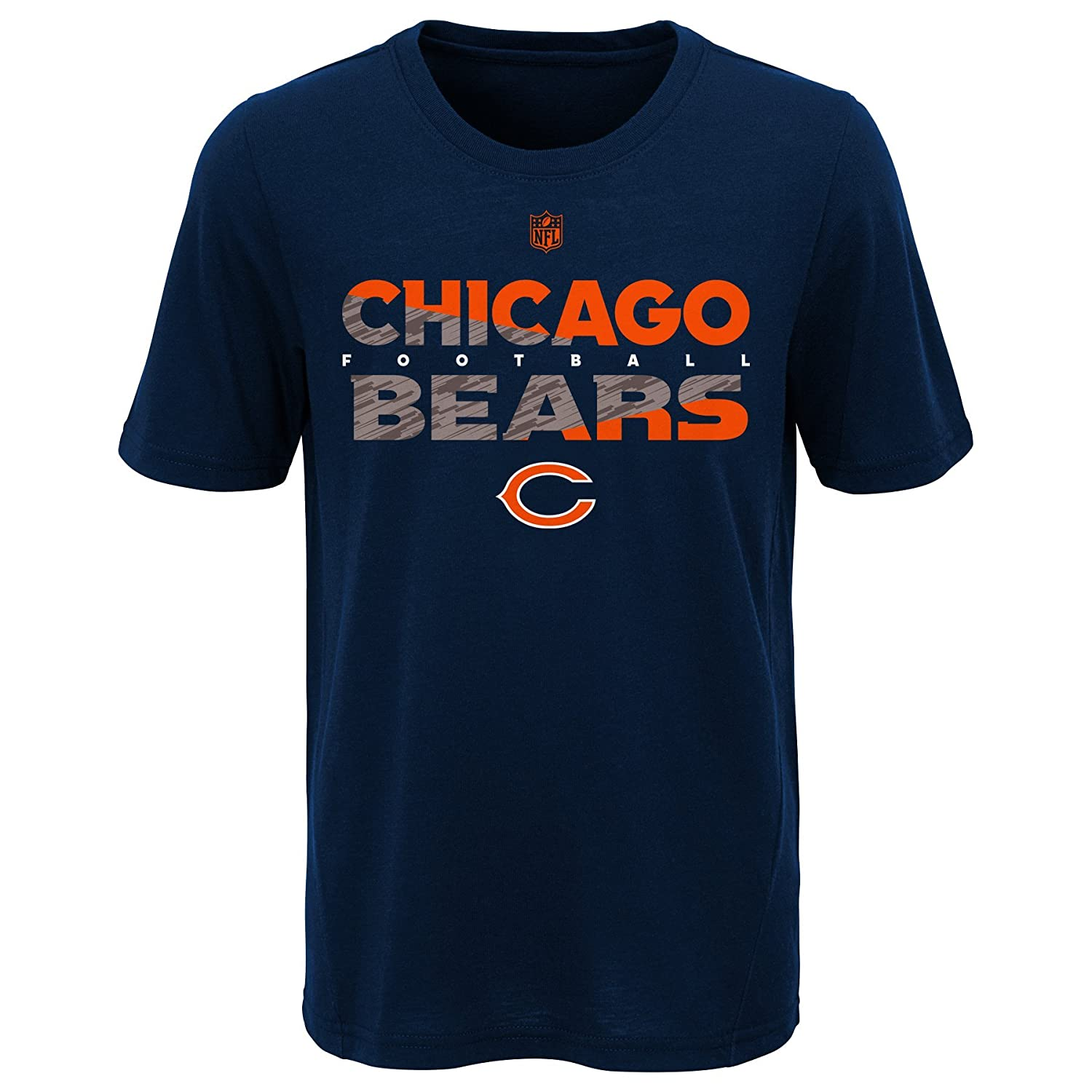 huge selection of 568dd ef6e8 Amazon.com : Outerstuff Youth Boys Chicago Bears Tee NFL ...