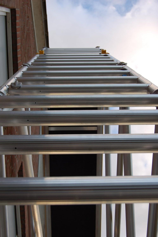 4,30 m Profi CUSTERS Corona 70-250 Alu-Rollger/üst T/ÜV//GS DIN EN 1004 /& 1298 Fahrger/üst von 4,30 m bis 14,00 m Arbeitsh/öhe Plattforml/änge 250 cm