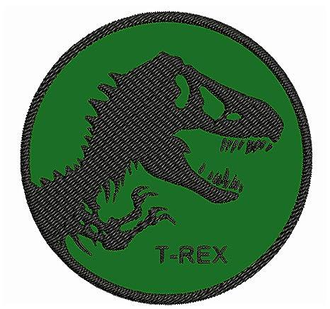 Parche bordado T-Rex de 3.5 pulgadas para planchar o coser ...