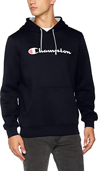 pull champion bleu sans capuche