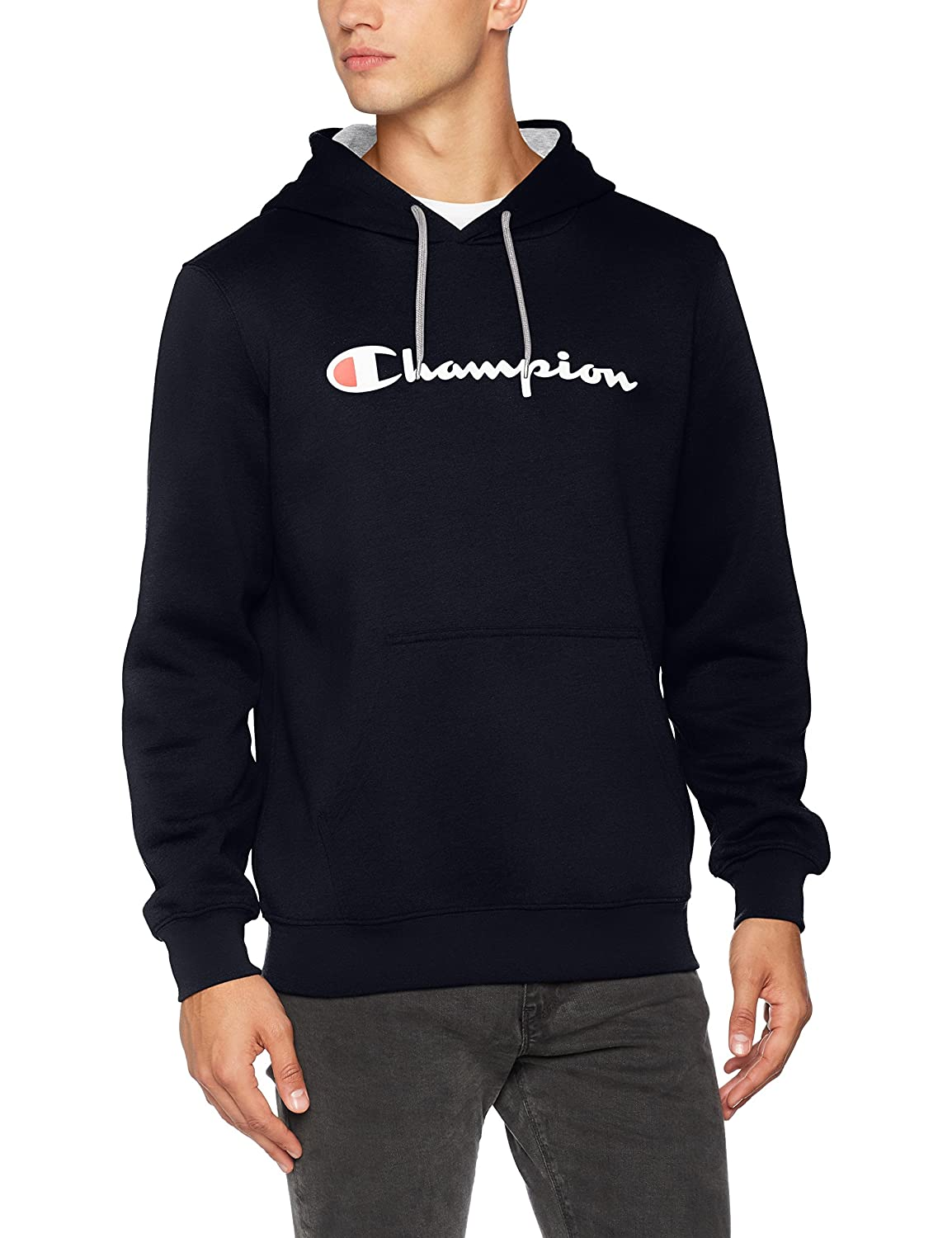 Champion Hooded Sweatshirt-Institutionals, Felpa Uomo 210737_F17