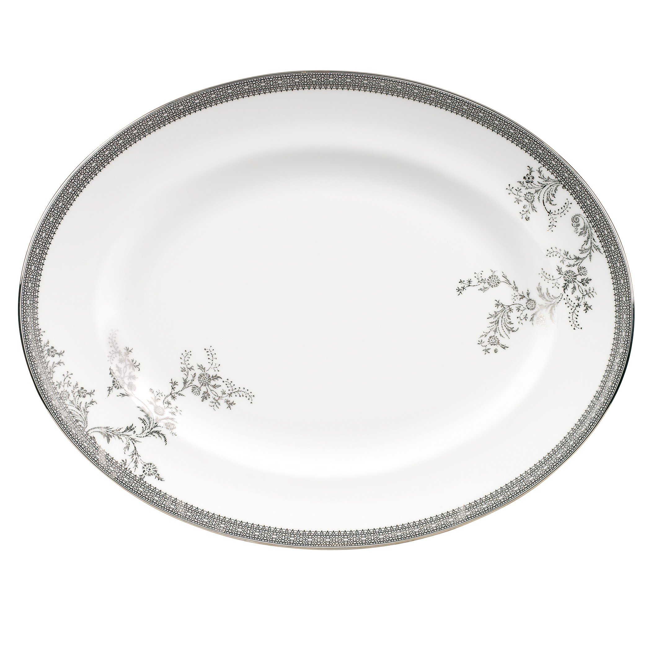 Wedgwood Vera Wang Vera Lace Gold 9-Inch Accent Salad Plate