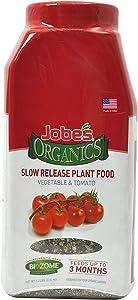 Jobe's Organics 09086 Tomato Slow Release Plant Food, 1 lb,red