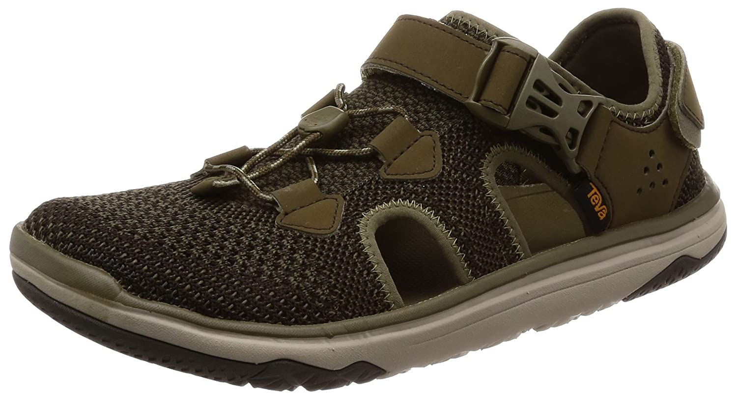 Teva - Men's Terra-Float Travel Knit - Black/Grey - 7 B072KQM3DV 8 D(M) US|Dark Olive