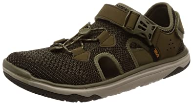 24bfca85c Teva Men s Terra-Float Travel Knit Dark Olive 7 D US D ...