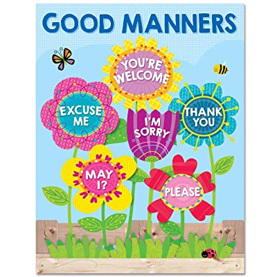 Creative Teaching Press Chart Garden of Good Manners Chart (5556): Office Products