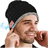 Bluetooth Beanie Hat, Gifts for Men, Wireless Bluetooth 5.0 Headphones, Winter Hat Built-in Stereo Speakers, Women Gifts…