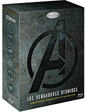 Pack Vengadores 1-4