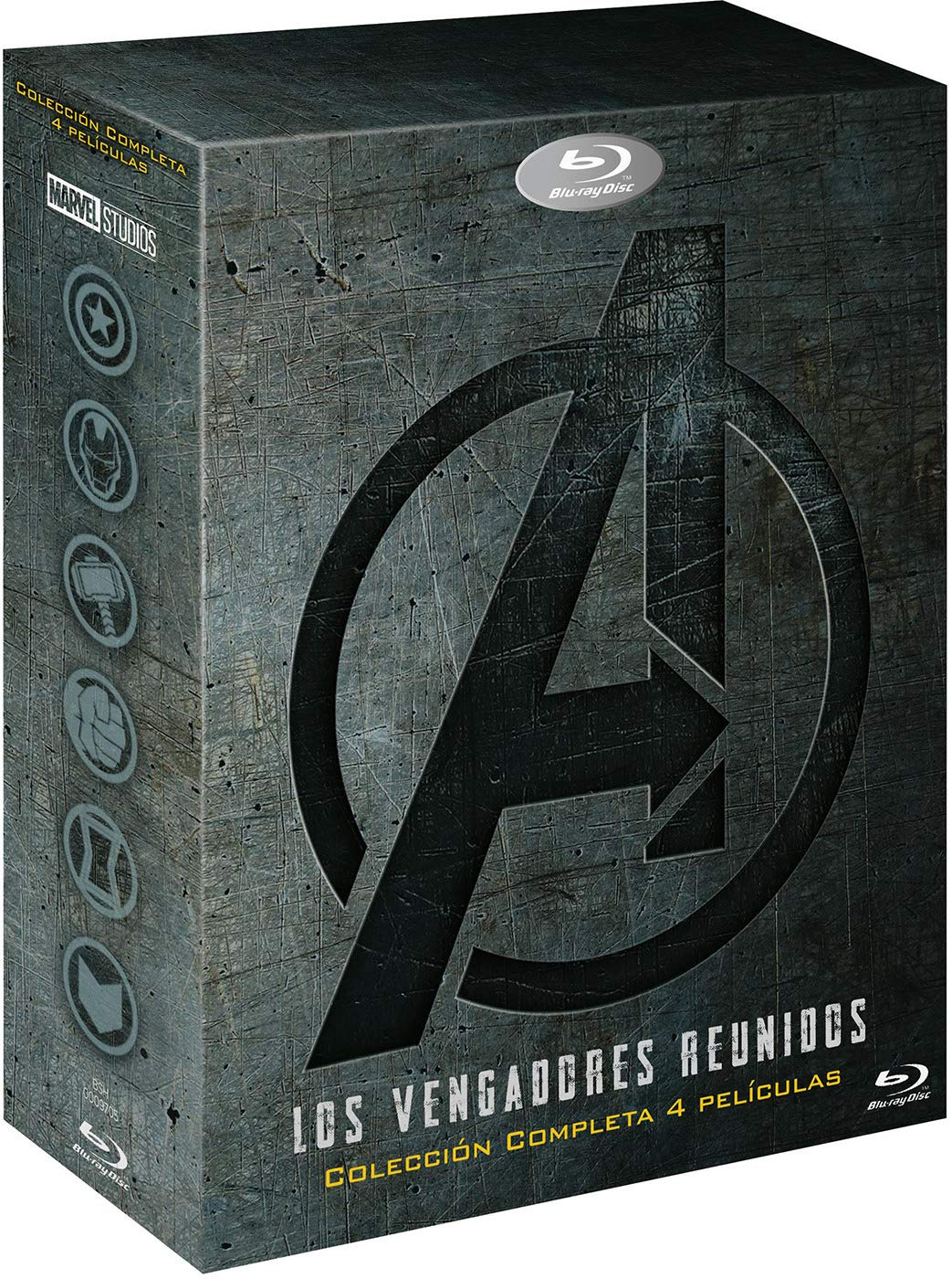 Pack: Vengadores 1-4 [Blu-ray]: Amazon.es: Robert Downey Jr ...