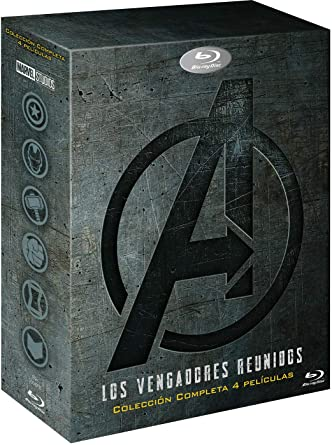 Pack: Vengadores 1-4 [Blu-ray]: Amazon.es: Robert Downey Jr., Chris Evans, Mark Ruffalo, Chris Hemsworth, Scarlett Johansson, Jeremy Renner, Robert Downey Jr., Chris Evans, Mark Ruffalo, Chris Hemsworth, Scarlett Johansson, Jeremy Renner: Cine
