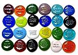 Encouragement Stones, Set of 24 Motivational and
