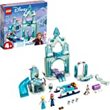 LEGO Disney Anna and Elsa's Frozen Wonderland 43194 Building Kit; A Cool Construction Toy That Boosts Creative Fun; New 2021
