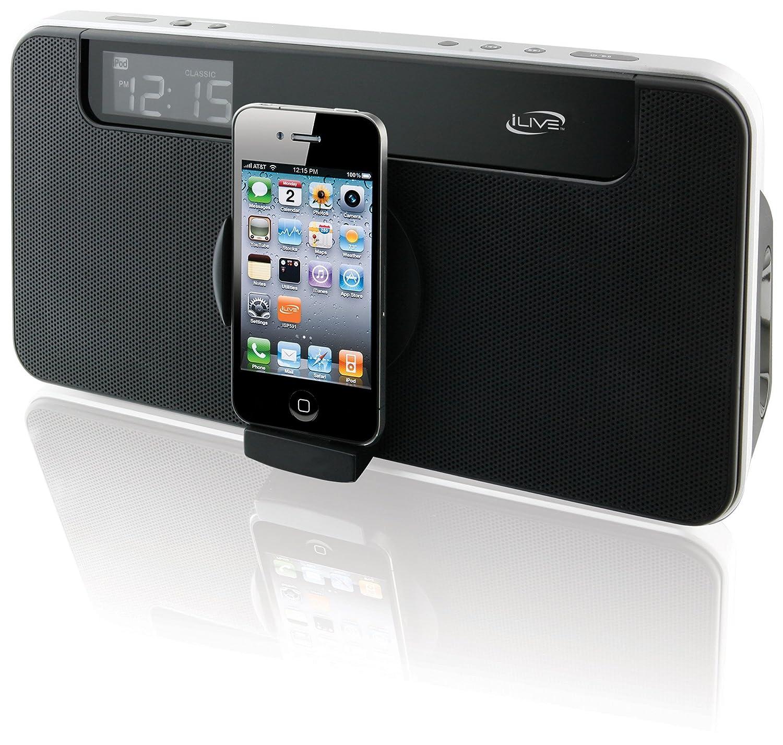 GPX ISP591B Negro acoplamiento altavoz - Altavoces (iPhone,iPod, LCD, Negro, Digital, Corriente alterna): Amazon.es: Electrónica