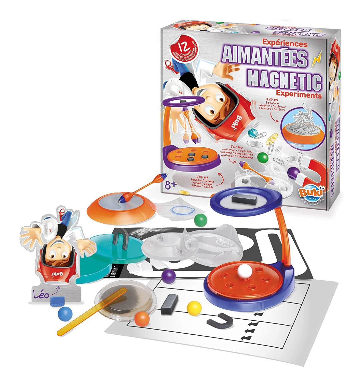 Amazon.com: Buki France - 2046eu - Jeu Scientifique - Expériences Aimantées: Toys & Games