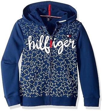 3cb0a156daf4 Amazon.com  Tommy Hilfiger Girls  Pullover Fashion Hoodie  Clothing