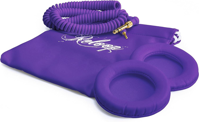 Reloop RHP-10 Purple Milk DJ Headphones White/Purple: Amazon.co.uk: Musical  Instruments