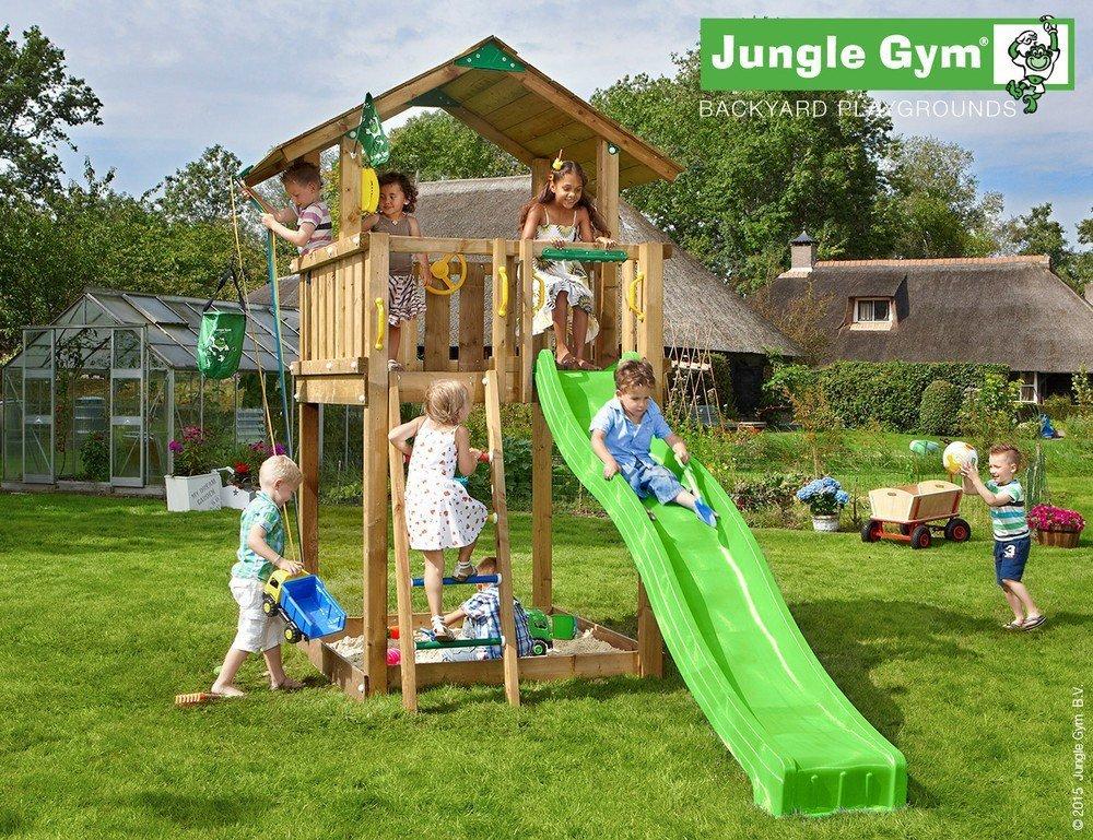 Klettergerüst Jungle Gym : Unbekannt spielturm jungle gym chalet 3 m rutsche sandkasten