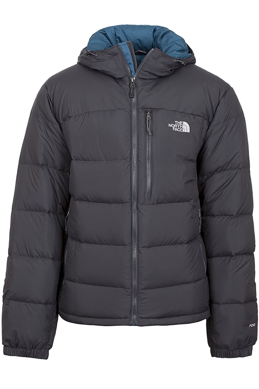 93d2f6a85 THE NORTH FACE Mens Argento Hoodie Jacket Asphalt Grey Prussian Blue ...