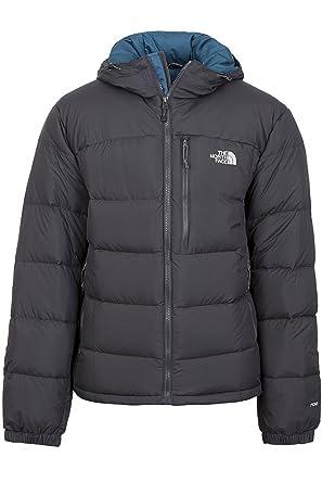 e50e2162a THE NORTH FACE Mens Argento Hoodie Jacket Asphalt Grey Prussian Blue Large