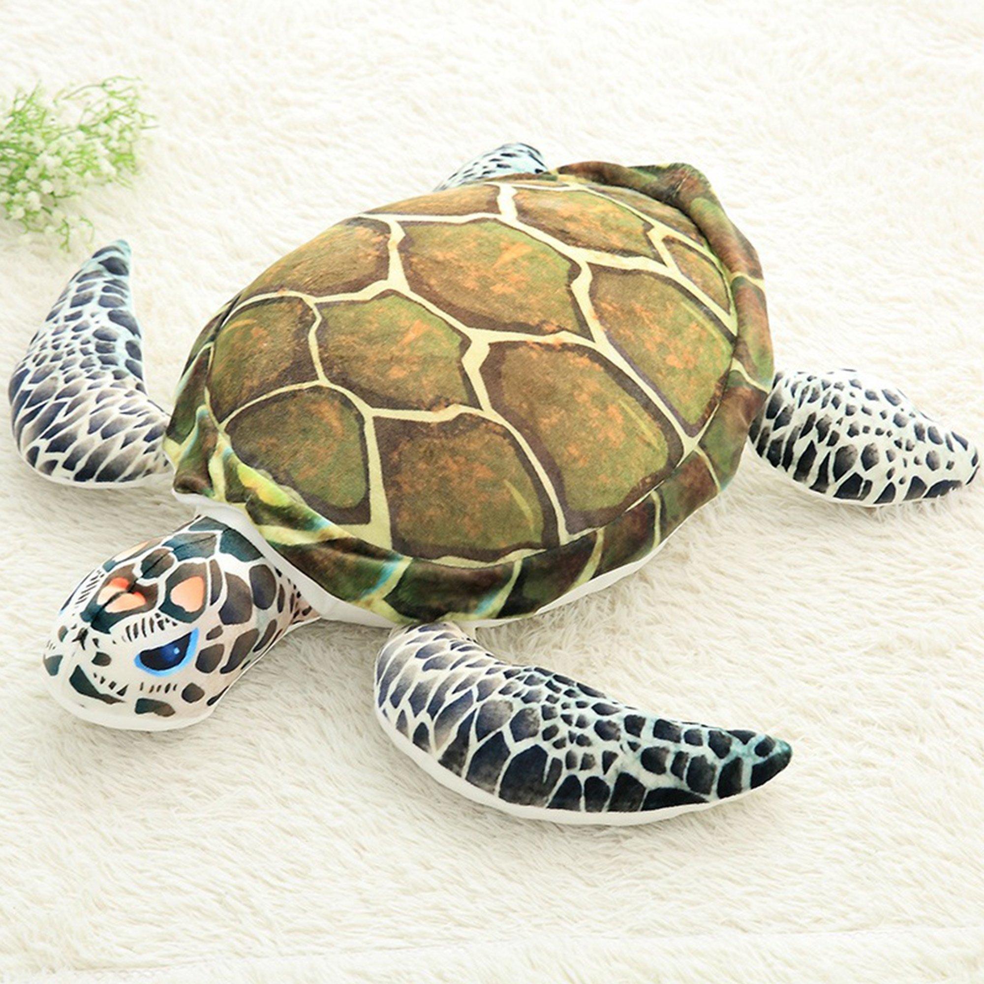 Lazada Ocean Plush Sea Turtles Stuffed Tortoise Toys Animal Pillow Gift Cushion 15''