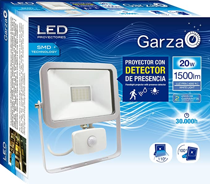 Garza Lighting Outdoor - Foco Proyector ISPOT LED de Exterior con ...