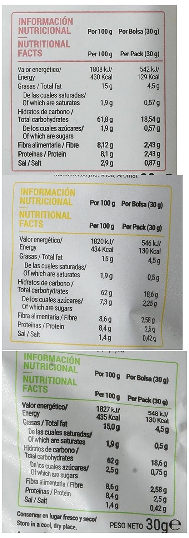 Anaconda Palomitas de Maíz Explotadas con Aire Caliente- Paquete de 6 x 30 gr - Total: 180 gr, sabor Mix de Sabores: Amazon.es: Alimentación y bebidas