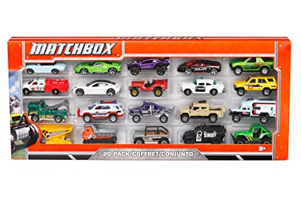 Amazon Com Matchbox On A Mission Pack Car Set Styles May