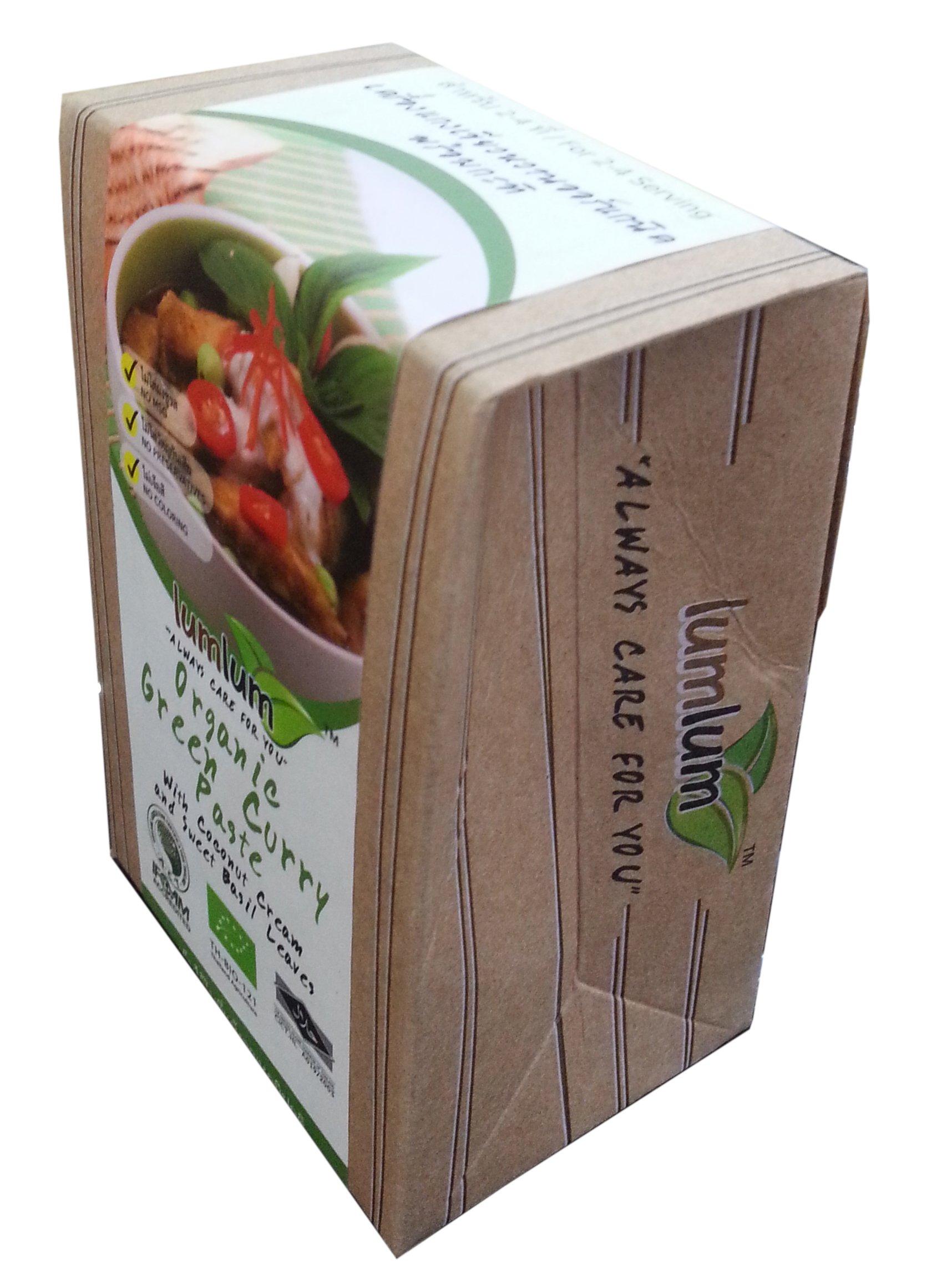 Lum Organic Green Curry Paste 3.5 Oz.(pack of 3)