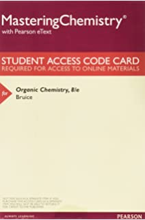 Amazon organic chemistry study guide and solutions manual masteringchemistry with pearson etext valuepack access card for organic chemistry fandeluxe Images