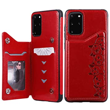Leather Cover Compatible with Samsung Galaxy Note 10 Plus Deer Wallet Case for Samsung Galaxy Note 10 Plus