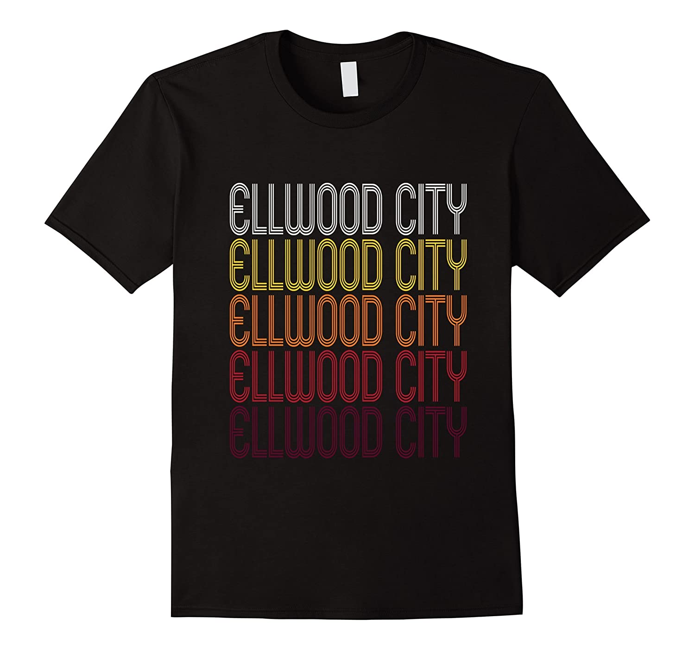 Ellwood City PA  Vintage Style Pennsylvania T-shirt-TH