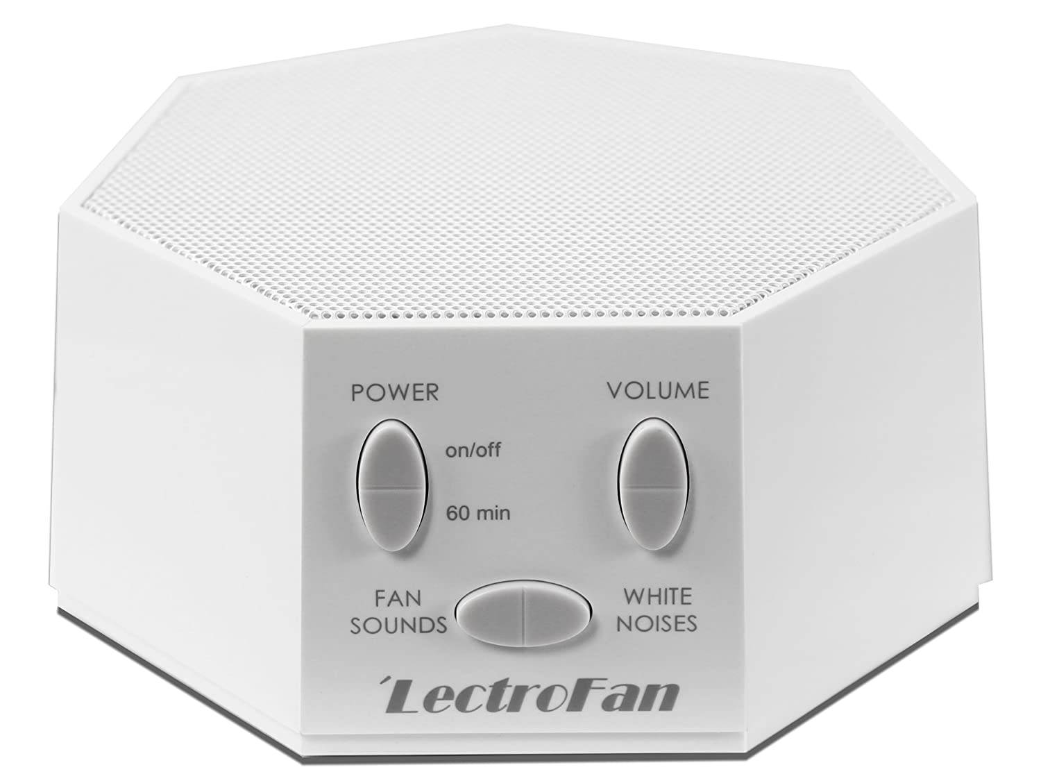 LectroFan High Fidelity White Noise Machine with 20 Unique Non-Looping Fan and White Noise Sounds and Sleep Timer