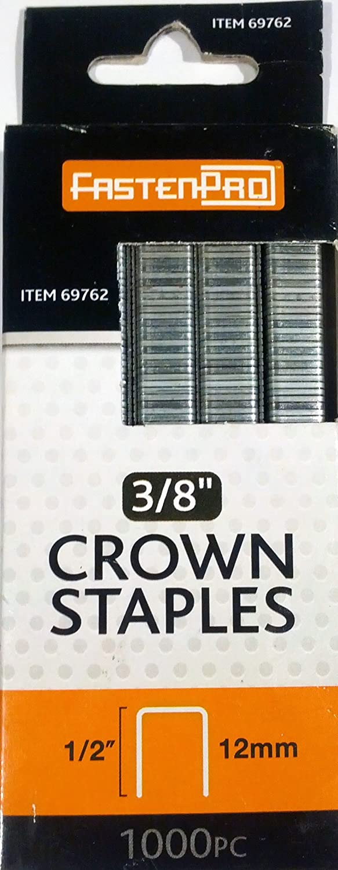 1//2 Long 1,000 Pc. 3//8 Crown Staples