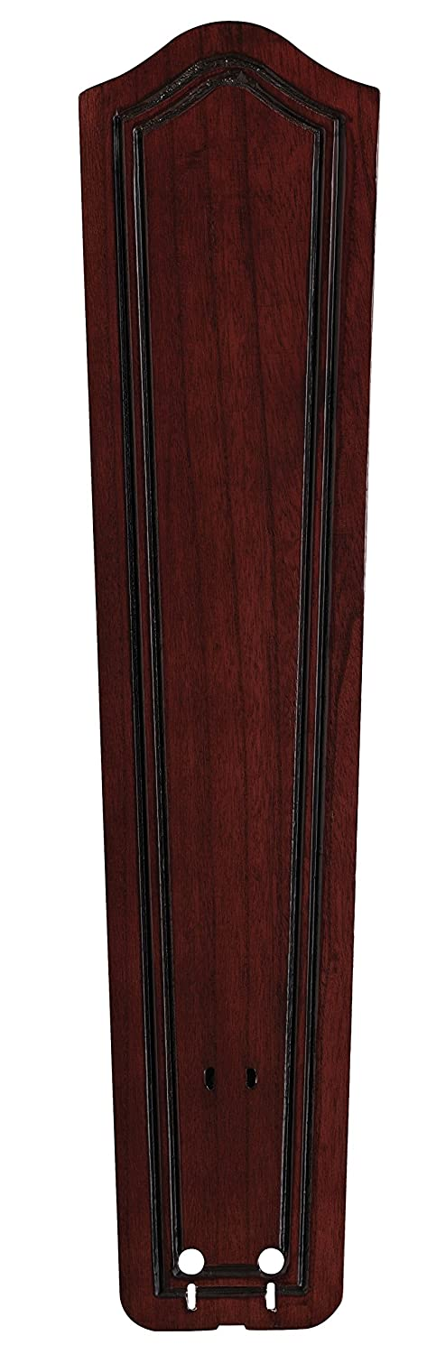 Fanimation B6131DC Carved Bulge Frame Wood Blade, 26-Inch, Dark Cherry, Set of 5 FM B6131DC