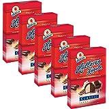 5er Pack Original Halloren Kugeln SAHNE-CACAO (5 x 125 g), Schokolade, Schokoladenkugeln, Pralinen