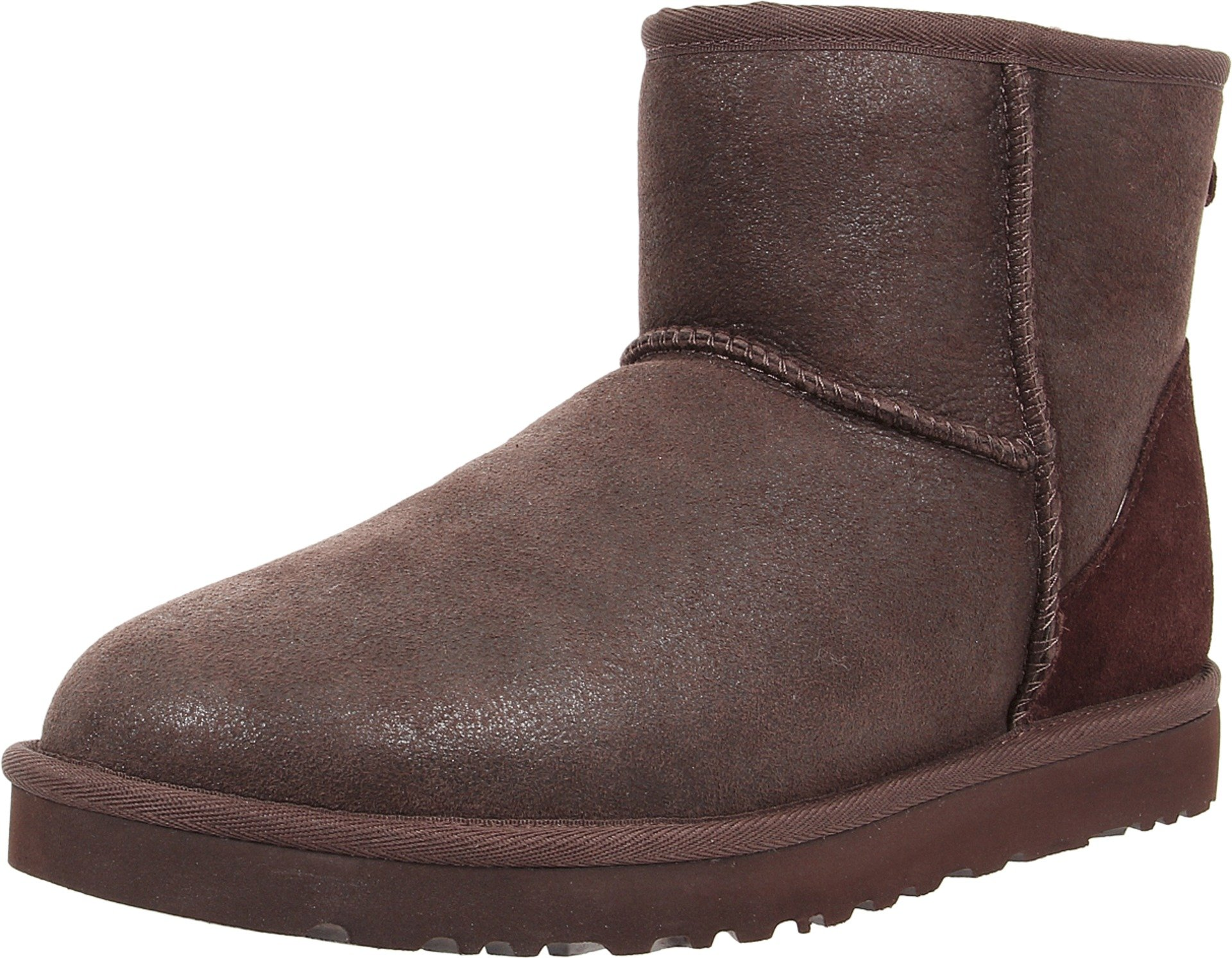 UGG Men's Classic Mini Bomber Bomber Jacket Chocolate Boot 18 D (M)