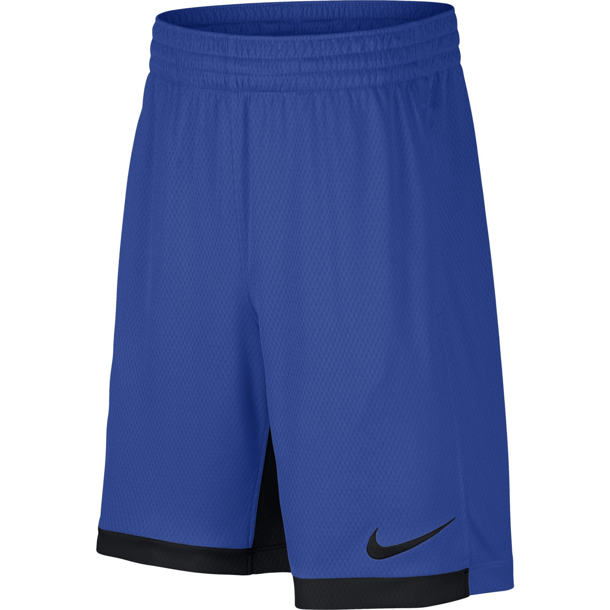 Nike 8'' Dry Short Trophy, Dri-FIT Boys' training shorts, Athletic shorts, Game Royal/Black/Black, L by Nike