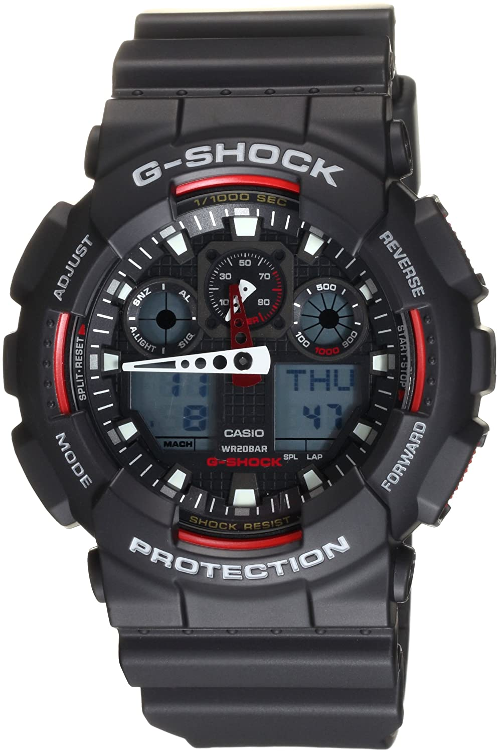 Amazon.com  Casio Men s GA100-1A4
