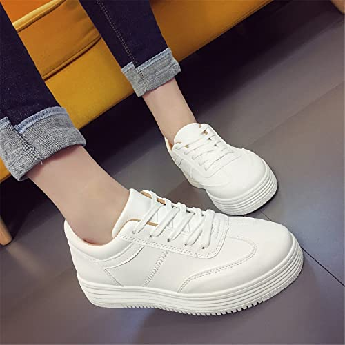 Amazon.com: Designer Summer Sneakers Women Causal Shoes White Basket Femme Women Flats Platform Creepers Zapatillas Deportivas Mujer black 7.5: Shoes