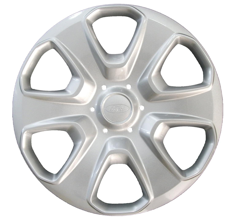 Ford 1746251 Fiesta 15-inch Single Wheel Trim - silver