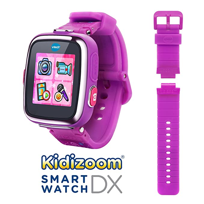 Amazon.es: VTech - Reloj multifunción Kidizoom Smart Watch DX, Color Morado (80-171657)