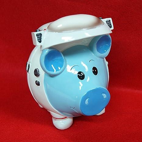 Coconut Shell Piggy Bank  Pig Money Coin Bank