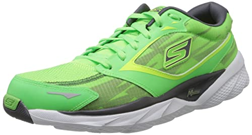Skechers Hombre Corre Fluorosilicatos 3 - Zapatillas de Running Nite Owl 53883, Color Verde, Talla 45: Amazon.es: Zapatos y complementos