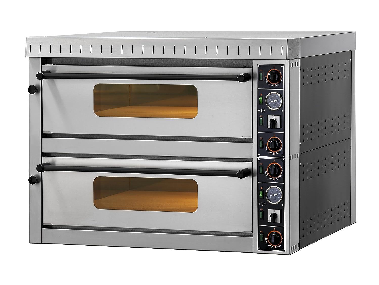 GAM Gastro Doppel Pizzaofen MD6+6 für 12 Pizzen 100 cm breit 230 Volt ***NEU***
