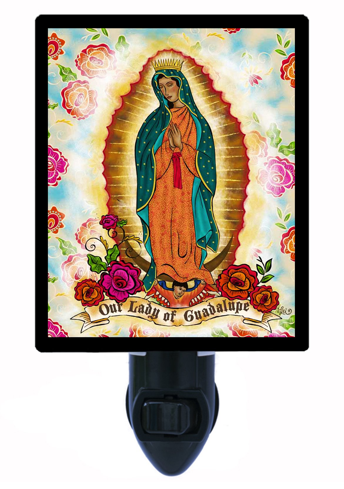 Religious Night Light - Our Lady Guadalupe - LED NIGHT LIGHT