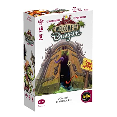 IELLO Welcome to The Dungeon Board Game: Toys & Games [5Bkhe2004795]