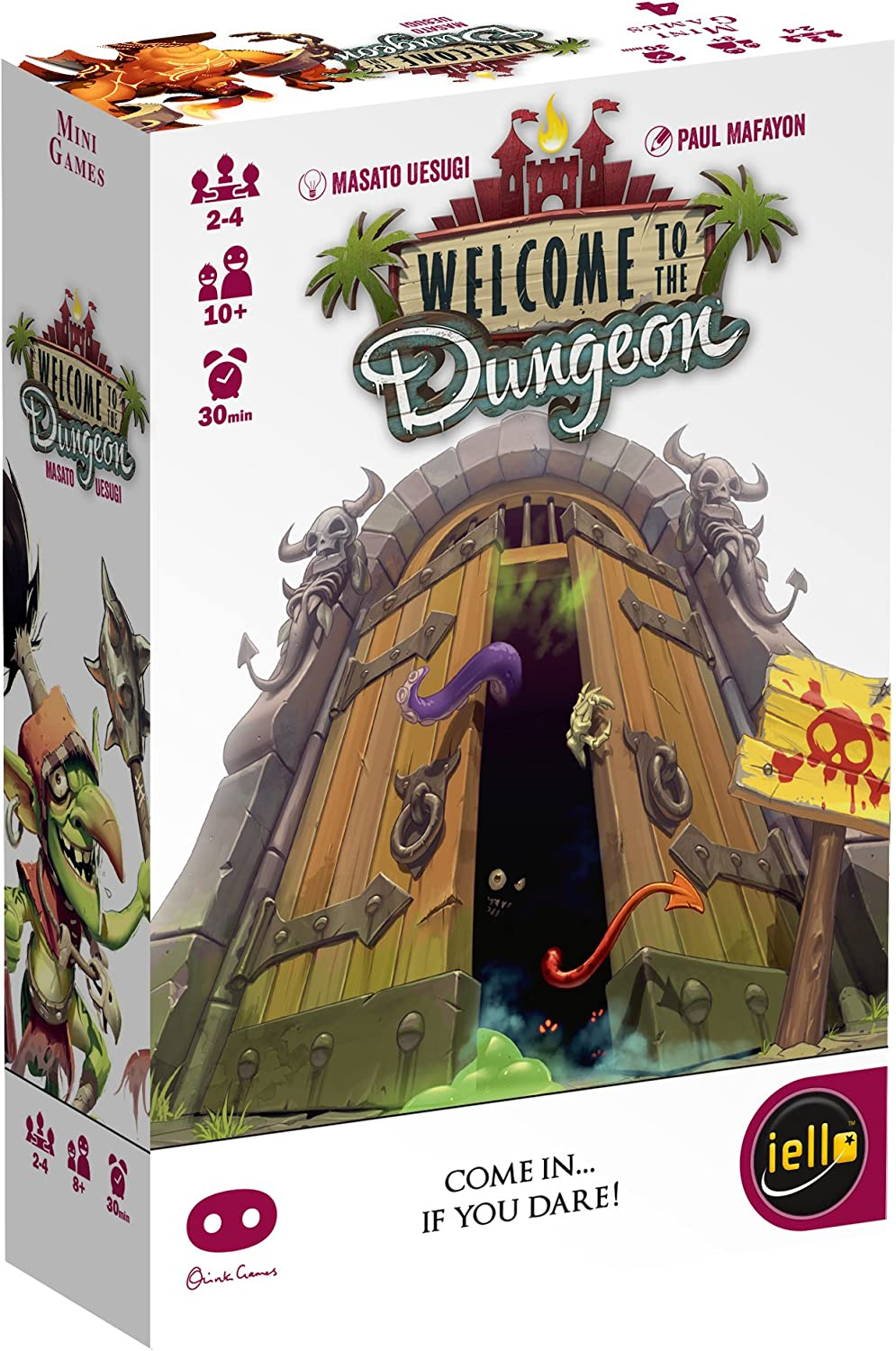 Amazon.com: IELLO Welcome to The Dungeon Board Game: Toys & Games