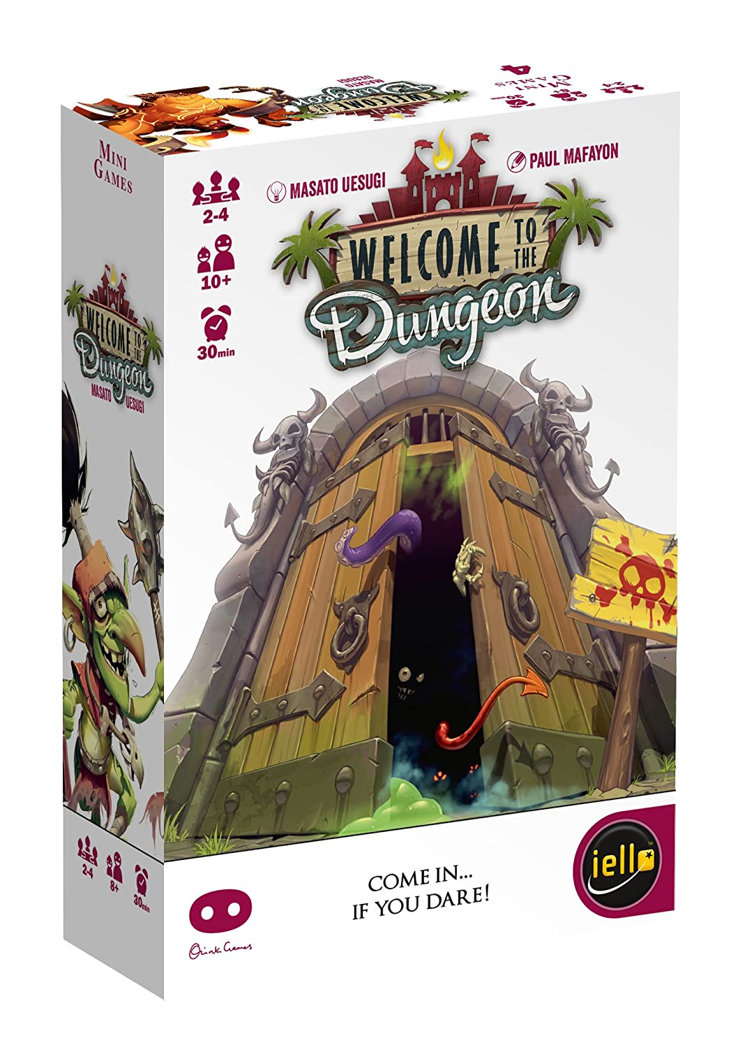 IELLO Welcome to The Dungeon Board Game