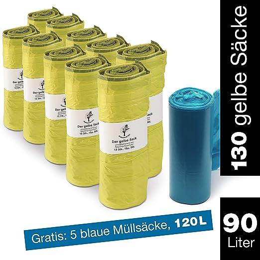 ProfessionalTree Saco Amarillo 10 Rollos Cada uno 13 x Sacos ...